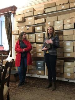Archivist Lisa Shortall